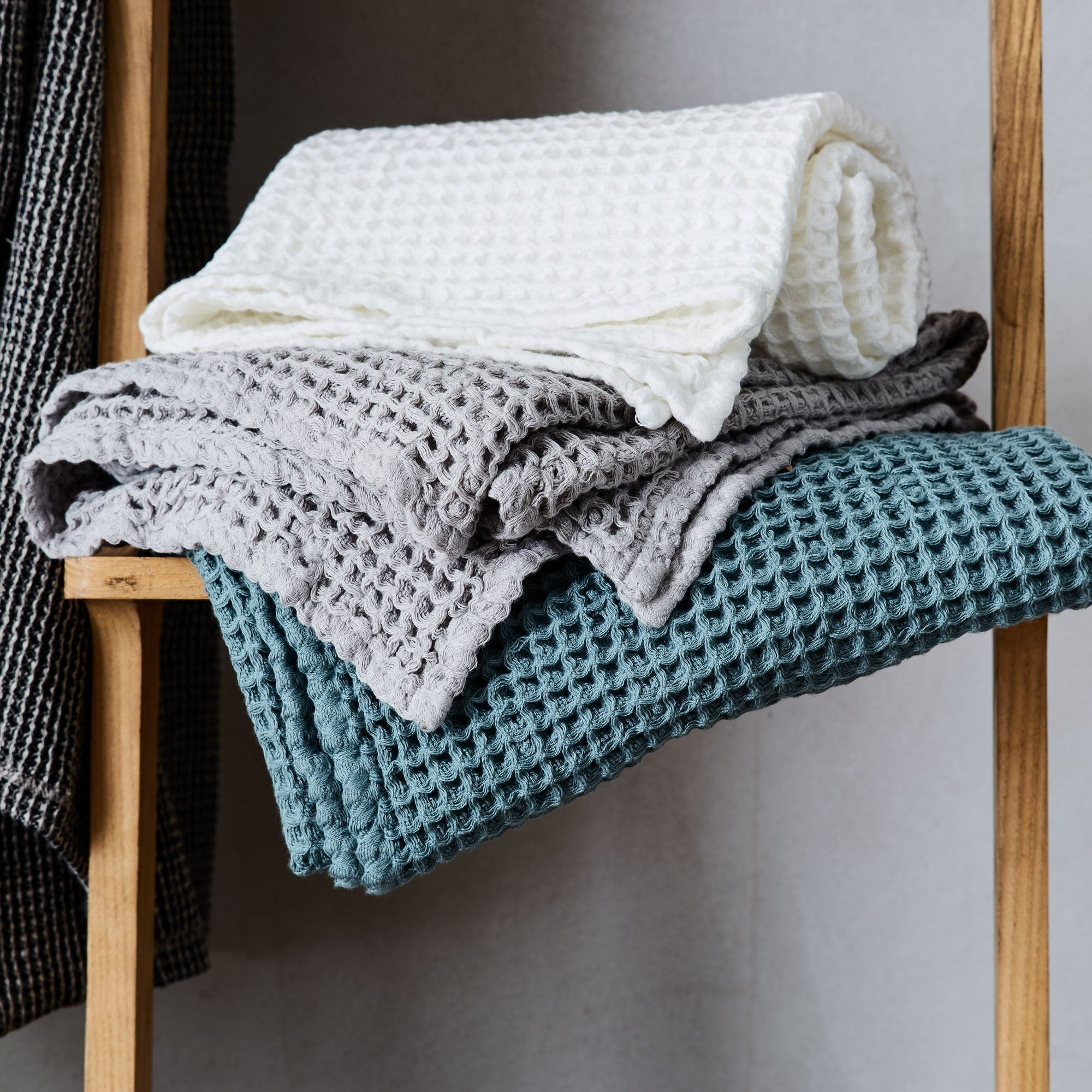 Mikawa Towel Collection [Grey green]