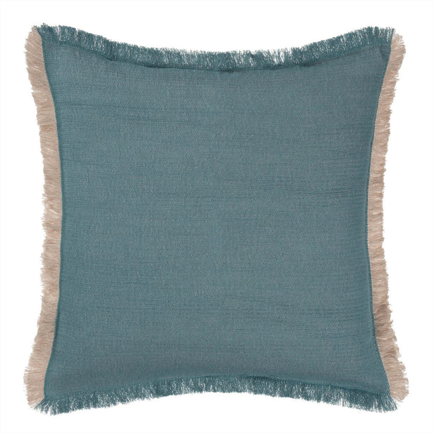 Alkas blanket in grey green & stone grey, 50% linen & 50% cotton |Find the perfect cotton blankets