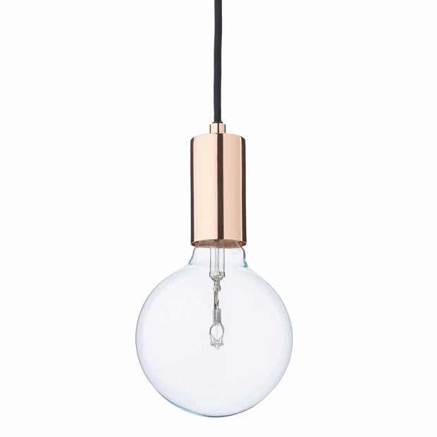 Salby pendant lamp, copper, 100% stainless steel