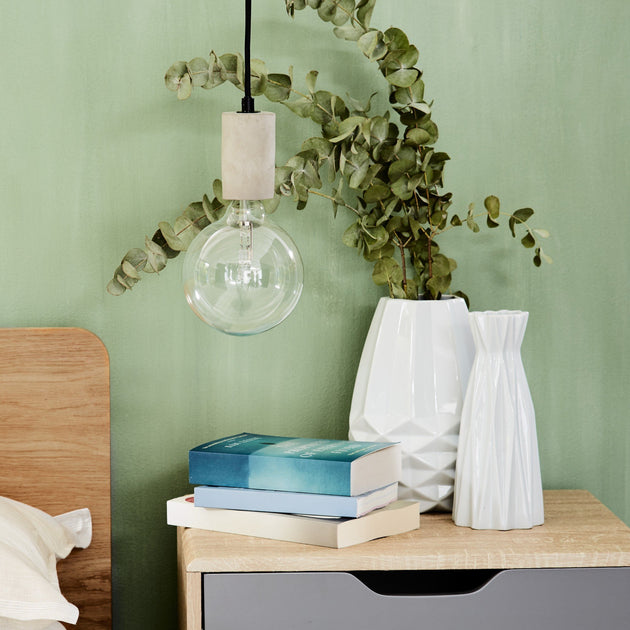 Light grey Salby Hängelampe | Home & Living inspiration | URBANARA