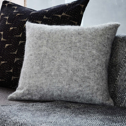 Fyn Cushion Cover in grey & natural | Home & Living inspiration | URBANARA