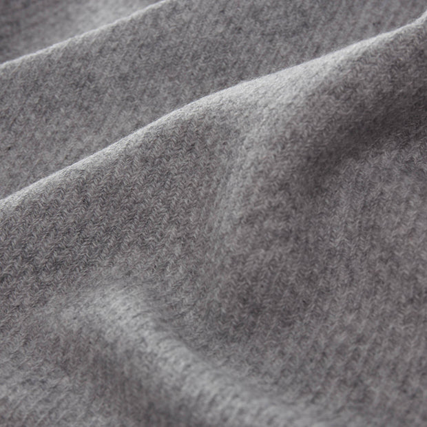 Almora Cashmere Blanket [Light grey]