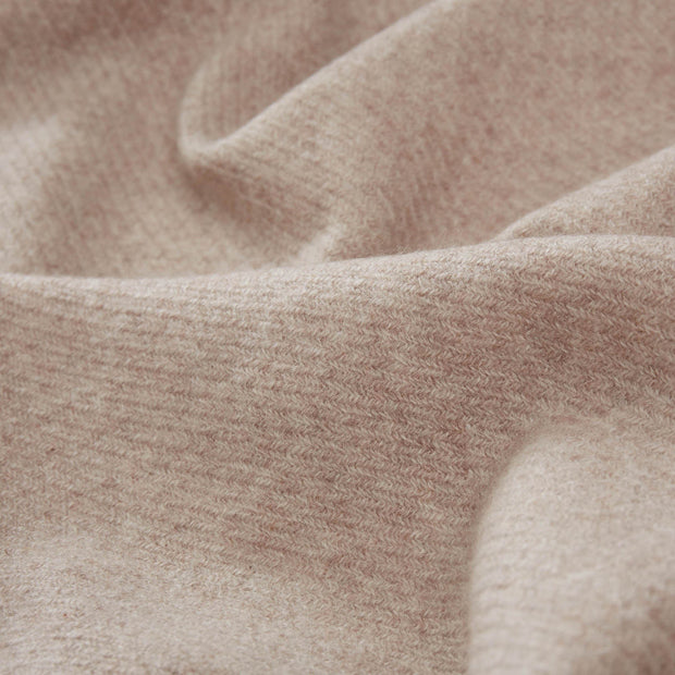 Almora blanket in sand, 50% cashmere wool |Find the perfect cashmere blankets