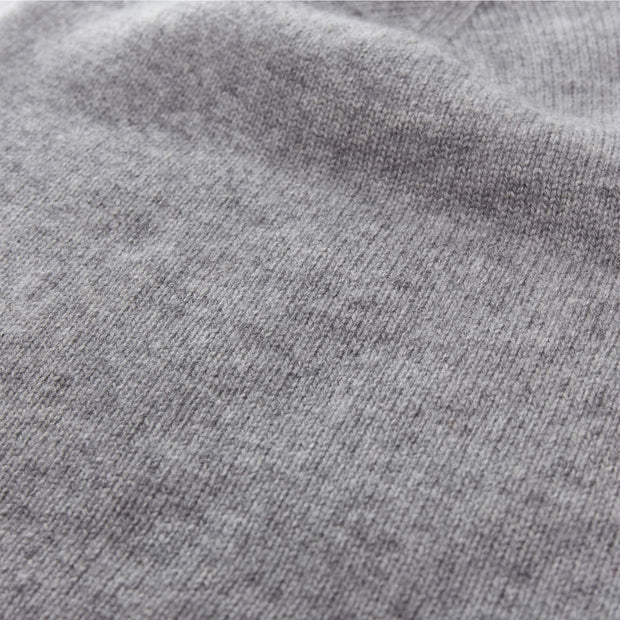 Nora jumper in light grey, 50% cashmere wool & 50% wool |Find the perfect loungewear