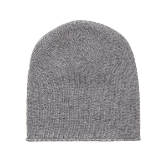 Nora hat, light grey, 50% cashmere wool & 50% wool