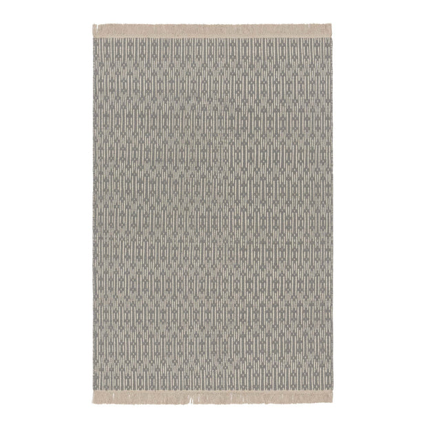 Lumaco rug in grey & off-white, 100% wool |Find the perfect wool rugs