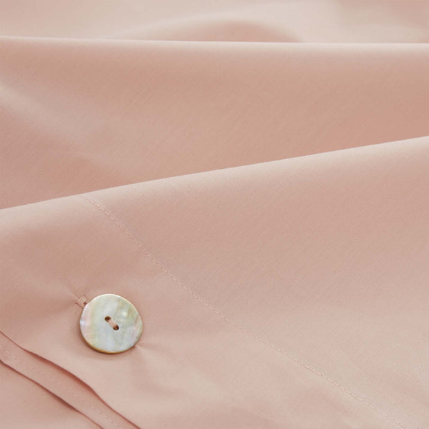 Manteigas duvet cover in light pink, 100% organic cotton |Find the perfect percale bedding