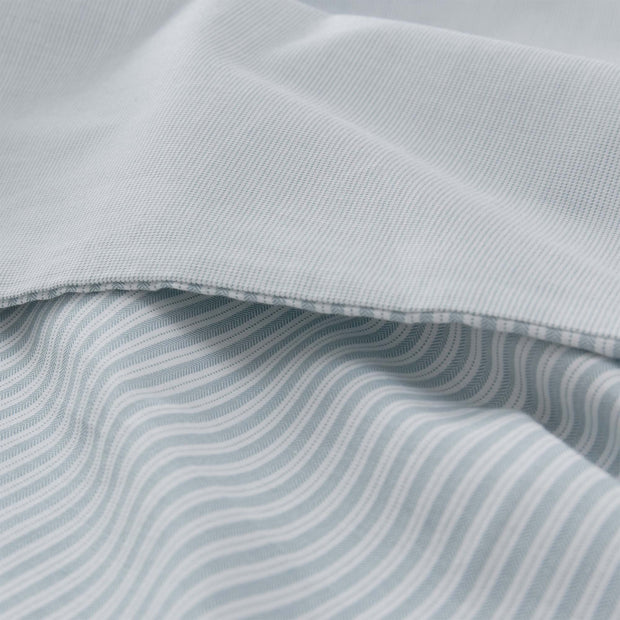Izeda pillowcase, green & white, 100% cotton |High quality homewares