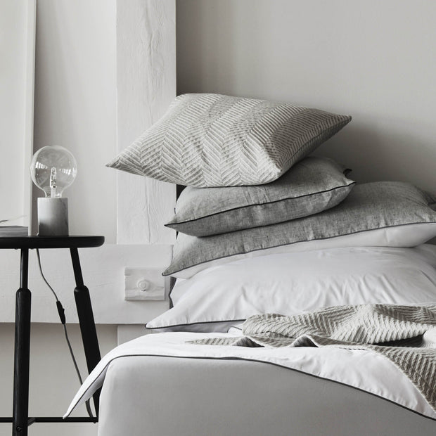 Grey melange Lixa Kissenhülle | Home & Living inspiration | URBANARA