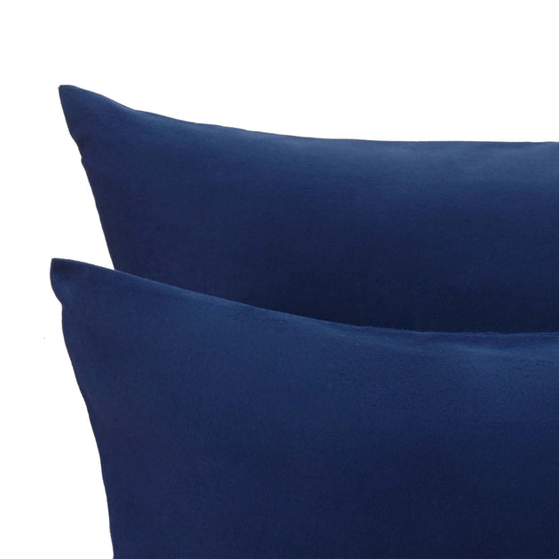 Dark blue Montrose Bettdeckenbezug | Home & Living inspiration | URBANARA