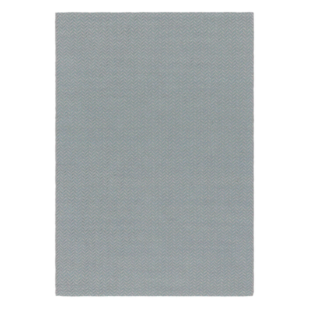 Kolvra rug, mint & light grey, 50% new wool & 50% cotton | URBANARA wool rugs