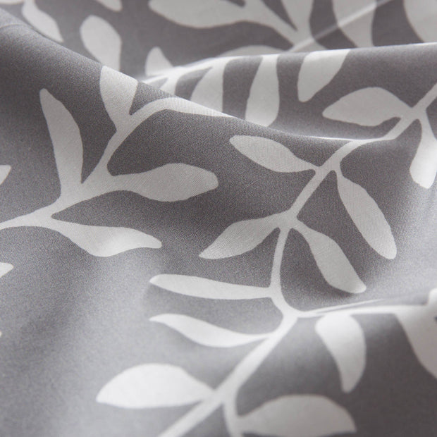Eixo table runner, grey & white & natural, 100% cotton & 100% linen | URBANARA table runners