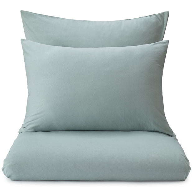 Samares pillowcase, green grey, 100% cotton