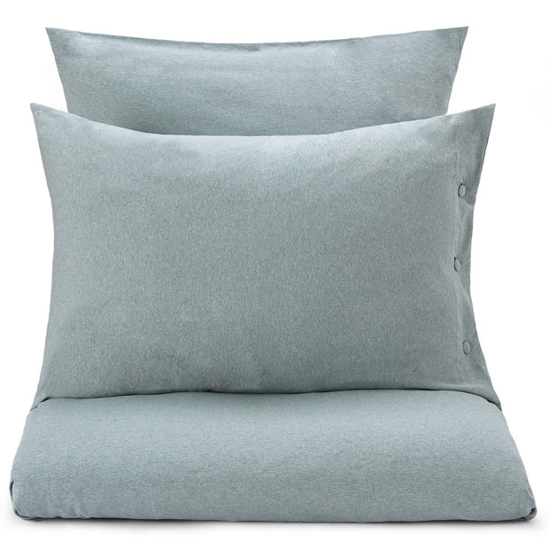 Sabugal pillowcase, emerald melange, 100% cotton