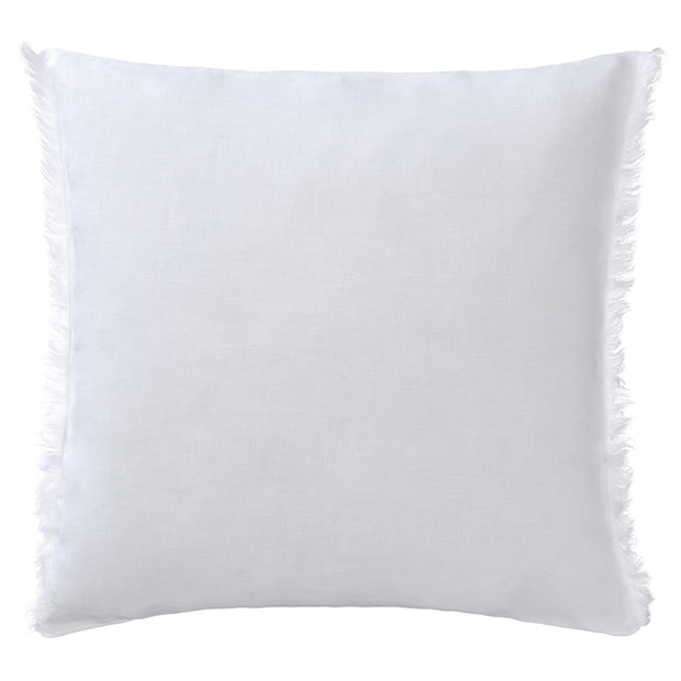 Bellvis cushion cover, white, 100% linen