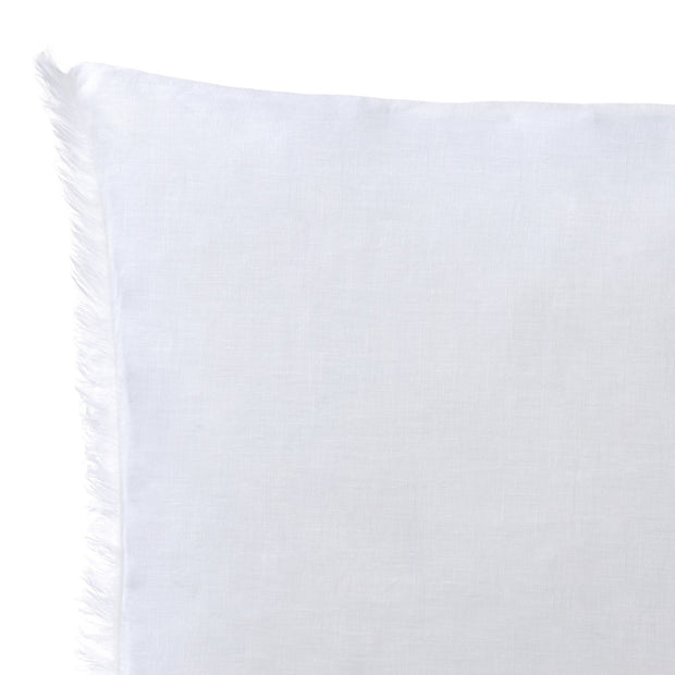 Bellvis cushion cover, white, 100% linen | URBANARA cushion covers
