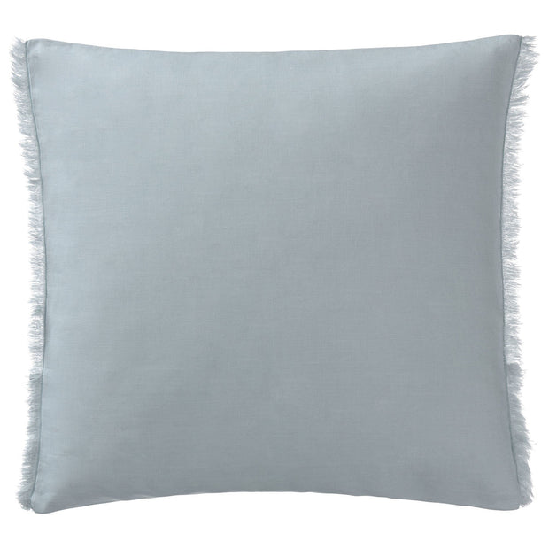 Bellvis cushion cover, green grey, 100% linen