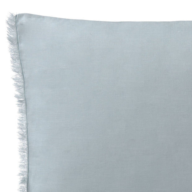 Bellvis cushion cover, green grey, 100% linen | URBANARA cushion covers