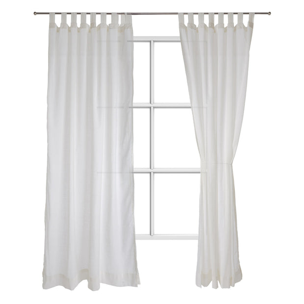Helan curtain, natural white, 50% cotton & 50% polyester