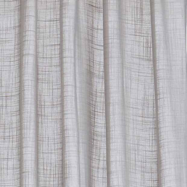 Helan curtain, light grey, 50% cotton & 50% polyester |High quality homewares