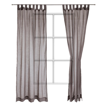 Helan curtain, clay, 50% cotton & 50% polyester