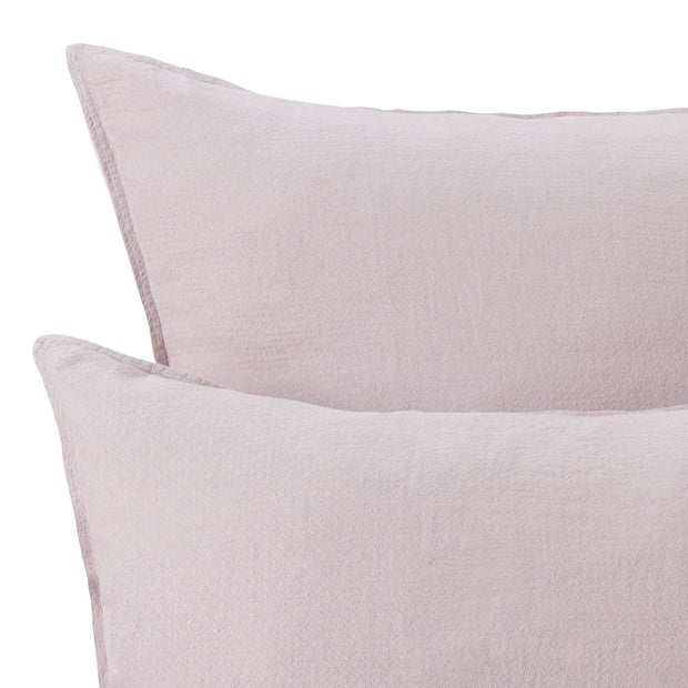 Lousa duvet cover, powder pink, 100% linen |High quality homewares
