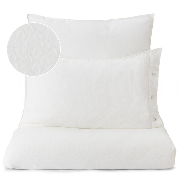 Lousa pillowcase, white, 100% linen