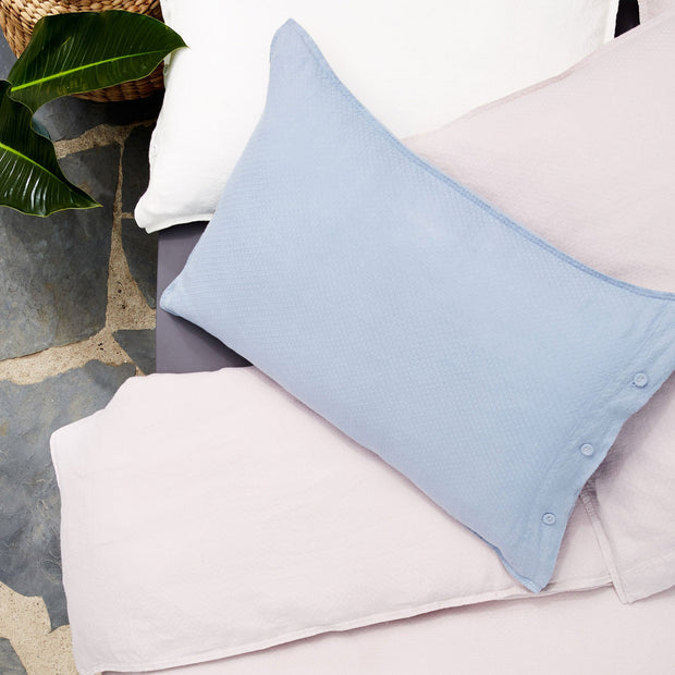 Light grey blue Lousa Kissenbezug | Home & Living inspiration | URBANARA