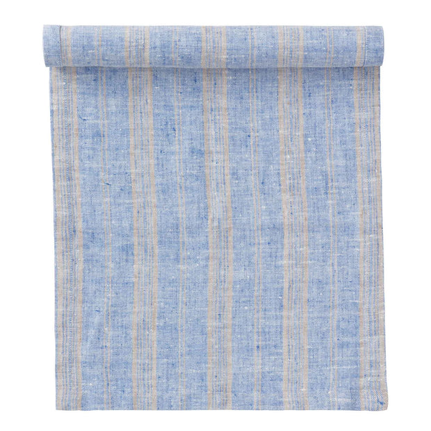 Lusis Tablecloth [Light blue/Natural]