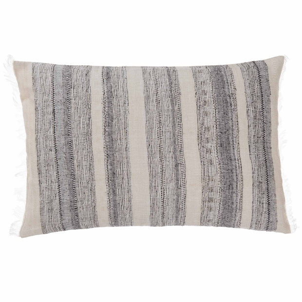 Bundi blanket in black & cream, 60% linen & 40% silk |Find the perfect silk blankets