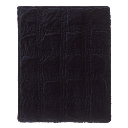 Samana bedspread, dark blue, 100% cotton
