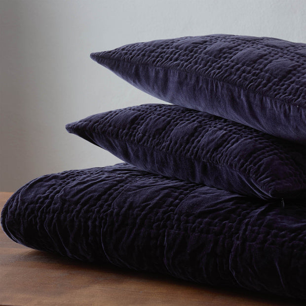 Samana cushion cover in dark blue, 100% cotton |Find the perfect cushion covers