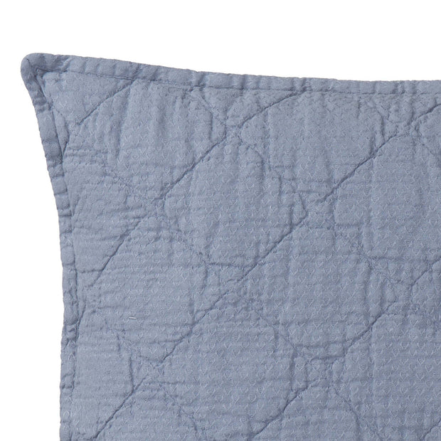 Lousa cushion, light grey blue, 100% linen | URBANARA cushion covers