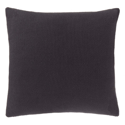 Antua cushion cover, charcoal, 100% cotton