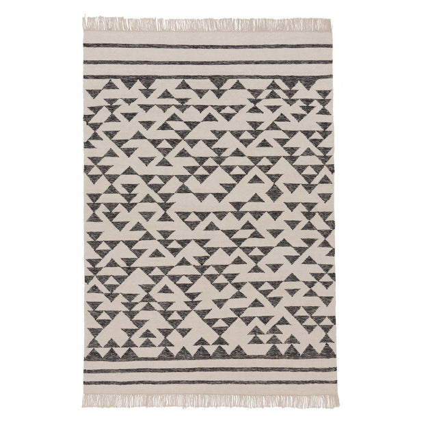 Kenai Rug [Black/Off-white]