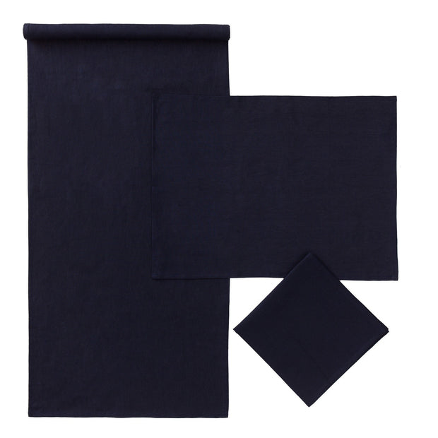 Dark blue Teis Tischset | Home & Living inspiration | URBANARA