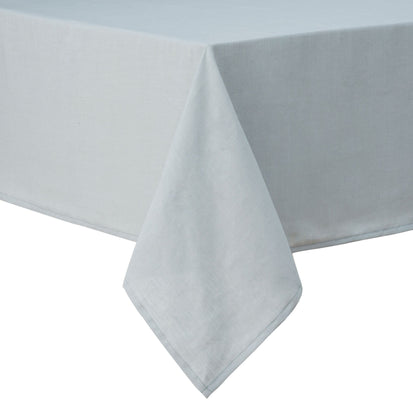 Teis table cloth, grey green, 100% linen