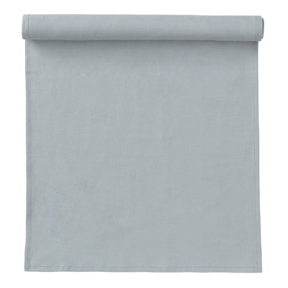 Teis table runner, grey green, 100% linen