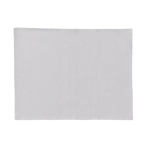 Teis place mat, light grey, 100% linen