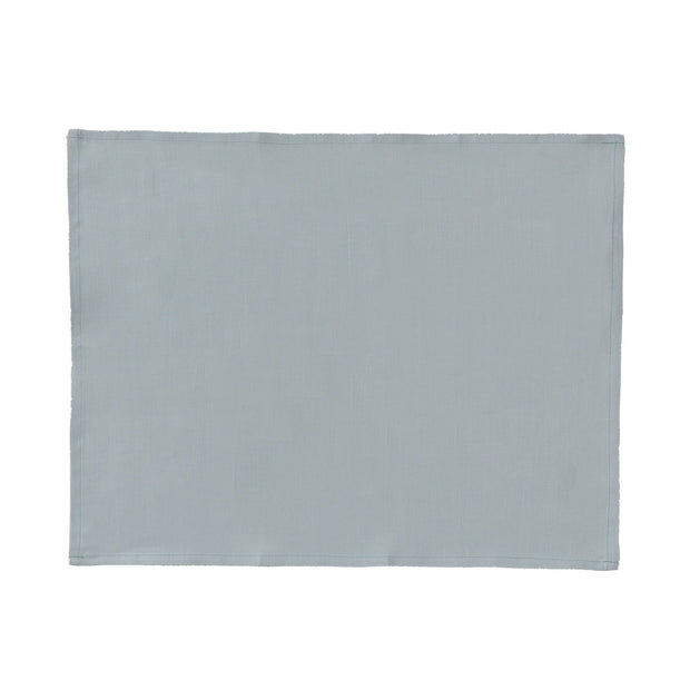 Teis place mat, grey green, 100% linen