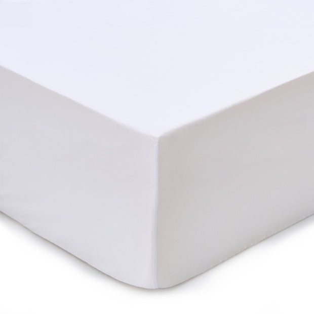 Marseille fitted sheet in white, 100% cotton |Find the perfect fitted sheets