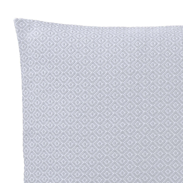 Mondego cushion cover, light grey & white, 100% cotton | URBANARA cushion covers