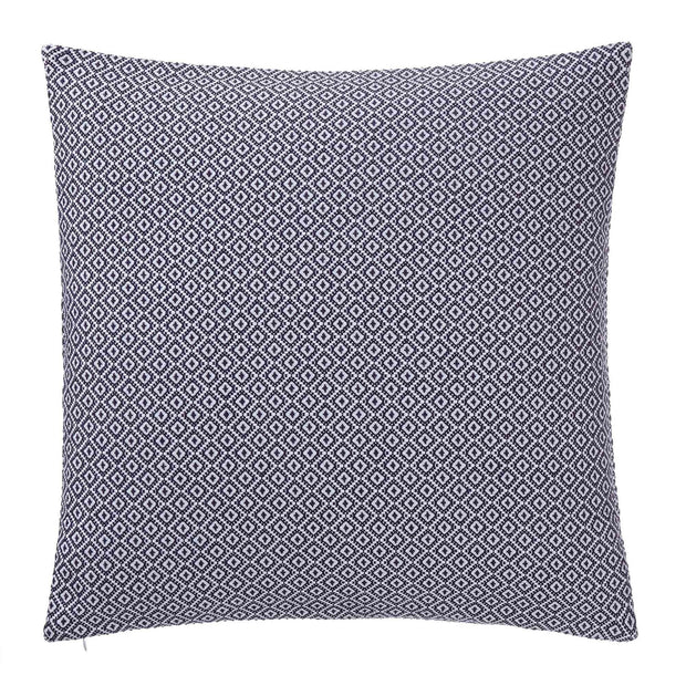 Mondego cushion cover, dark blue & white, 100% cotton