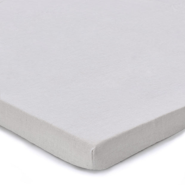 Toulon fitted sheet, natural, 100% linen
