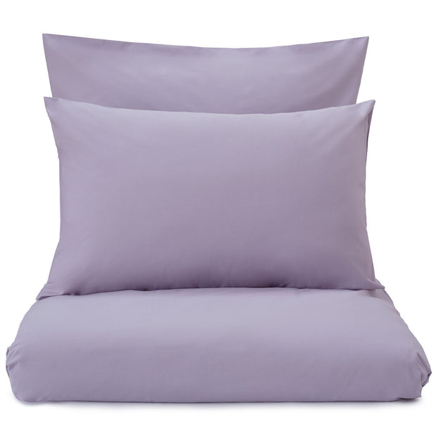 Perpignan duvet cover, light purple grey, 100% combed cotton