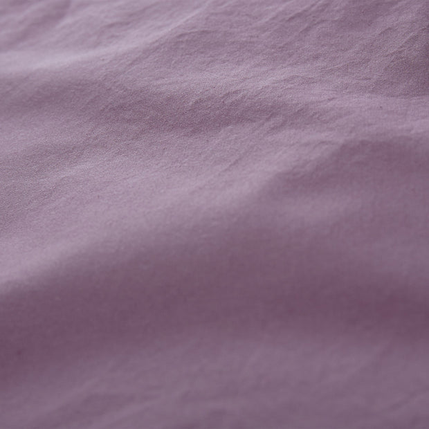 Luz duvet cover, aubergine, 100% cotton | URBANARA cotton bedding