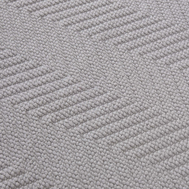 Tajo bath mat, light grey, 100% cotton |High quality homewares