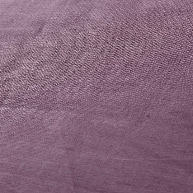 Bellvis cushion cover, aubergine, 100% linen |High quality homewares