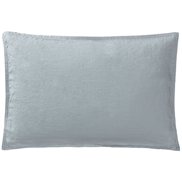 Estoril cushion cover, green grey, 100% linen