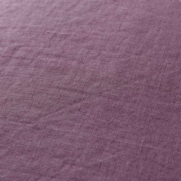 Estoril cushion cover, aubergine, 100% linen | URBANARA cushion covers